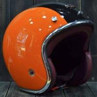 Nón Bảo Hiểm Barock orange black