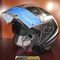 Mũ bảo hiểm 3/4 HJC IS-33 chuẩn ECE (hoa văn đen trắng)