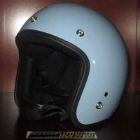 Mũ bảo hiểm 3/4 Dammtrax (Màu xanh lam bóng)