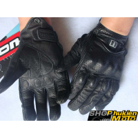 Găng tay da ICON (MSP:02) (đen/nhám) (size L/XL)