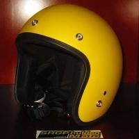 Mũ bảo hiểm 3/4 Dammtrax (Vàng nhám)