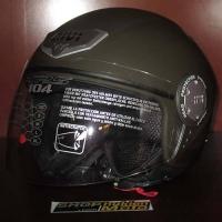 Mũ bảo hiểm 3/4 GIVI 10.4 (màu lính) (size: L/ XL)