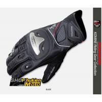 Găng tay Komine GK-170 (đen/đỏ) (size: L/XL)