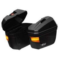 Thùng hông Givi E22N-S/ SB2000 (có đèn) (gồm bộ khung sắt SB2000) (chính hãng)