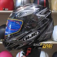 Mũ Bảo Hiểm Fullface HJC Cool Thunder (Đen Xám) (size: L)