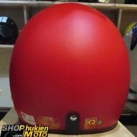 Mũ bảo hiểm 3/4 DAMMTRAX ASIA (Đỏ nhám)