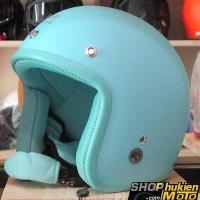 Mũ bảo hiểm 3/4 ROYAL M20 (Màu xanh ngọc nhám) (Size M/ L)