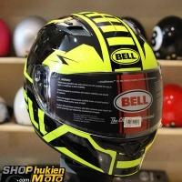 Mũ bảo hiểm Fullface BELL (Chuẩn: DOT, ECE) (Vàng đen bóng) (Size: M/L/XL)