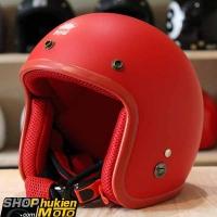 Mũ bảo hiểm 3/4 ROYAL M20 (Màu đỏ nhám) (Size M/ L)