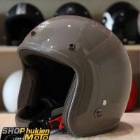 Mũ bảo hiểm 3/4 ROYAL M20 (Nâu bóng viền nâu) (Size M/ L)