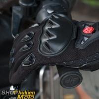 Găng tay scoyco dài ngón MC29 (đỏ/đen)