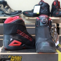 Giày moto TAICHI RSS008 (đen/đỏ)