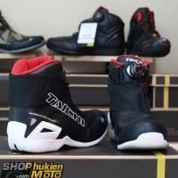 Giày moto TAICHI RSS008 (trắng/đen)