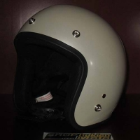 Mũ bảo hiểm 3/4 Dammtrax (Màu ngọc trai bóng)