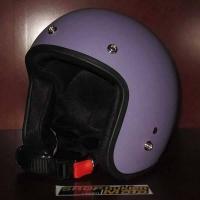 Mũ bảo hiểm 3/4 Dammtrax (Tím nhám)