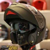 Mũ bảo hiểm lật cằm YOHE 950 (Đen nhám) (Size: S/M/L/XL)
