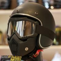 Kính B2 và mặt nạ B- Mask (màu tráng gương)