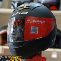 Mũ bảo hiểm Fullface LS2 FF352 Rookie (Đen nhám) (Size: S/M/L/XL/XXL)