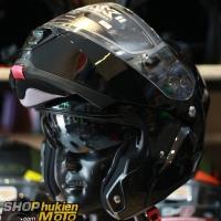 Mũ Bảo Hiểm Lật Cằm (Flip up) HJC IS -Max II (Đen Bóng) (size: M/L/XL)