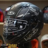 Mũ bảo hiểm HJC CS-15 Songtan MC5SF (đen xám nhám) (Size: M/L/XL)