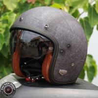 Mũ bảo hiểm 3/4 HJC FG 70s Vintage (xám nhám) (size: M/L/ XL)