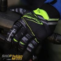 Găng tay Komine GK-219 (Đen/vàng) (Size: M/L/XL/XXL)