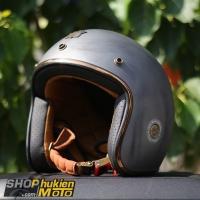 Mũ bảo hiểm 3/4 ROYAL M20C Vintage (xám nhám)