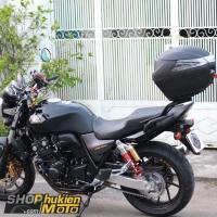 Thùng sau GIVI cho xe Honda CB400 Super Four (gồm: Thùng GIVI B34NT và Baga)