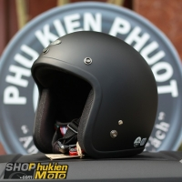Mũ bảo hiểm 3/4 AVEX Xtreme Thái Lan (Đen nhám)