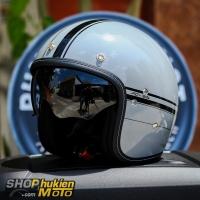 Mũ bảo hiểm 3/4 HJC FG-70S (LADON MC5) (size: L/XL)