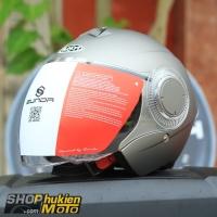 Mũ bảo hiểm 3/4 Sunda 621 (lông chuột nhám) (size: L/XL)