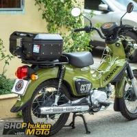 Thùng nhôm GIVI DLM30B cho xe Honda Cross Cub CC110