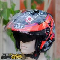 Mũ bảo hiểm 3/4 KYT VENOM (ESPARGARO 2017 FUXIA) (Size: L/XL)