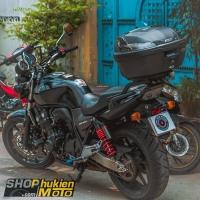 Thùng GIVI cho xe Honda CB400 Super Four (gồm: Thùng GIVI B37NT và Baga)