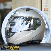 Nón bảo hiểm Sunda 811 (Bạc nhám) (size: L/XL)