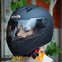 Nón bảo hiểm Sunda 811 (Đen nhám) (size: L/XL)
