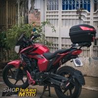 Baga và thùng sau GIVI cho xe Honda CBRR150
