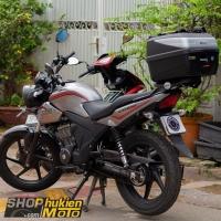 Baga và thùng sau GIVI cho xe Honda CB150 Verza