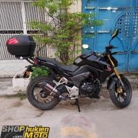 Thùng sau cho xe Honda CB190R (Gồm: Baga và Thùng GIVI B34N)