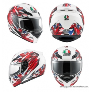 Mũ Bảo Hiểm AGV K3 UK Flag
