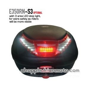 Thùng sau GIVI E350RN- S3 (có nối đèn)