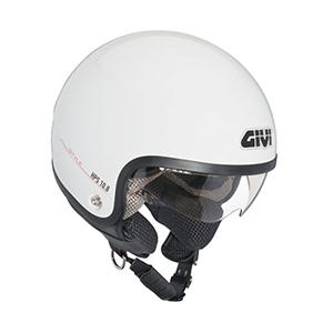 Mũ Bảo Hiểm GiVi 3/4 (HPS 10.8 trắng)