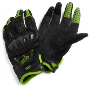 Găng tay Fox bomber/ (xanh/ đen) (size L/ XL)