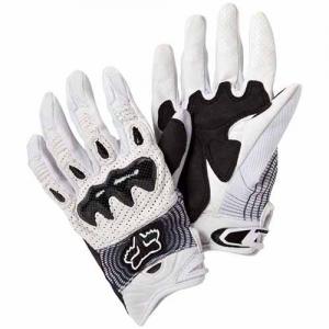 Găng tay Fox bomber/ trắng (size L/ XL)