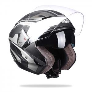Mũ bảo hiểm 3/4 2 kính Premier M1 (size: L/ XL)