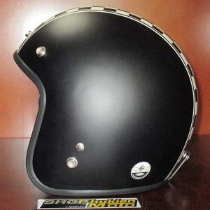 Mũ bảo hiểm 3/4 Dammtrax (đen nhám sọc ca rô)
