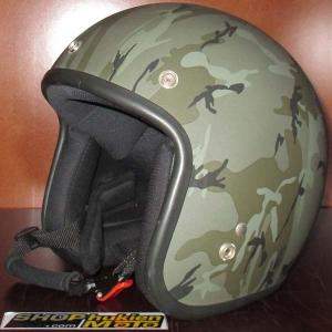 Mũ bảo hiểm 3/4 Dammtrax (pattern màu lính)