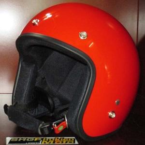 Mũ bảo hiểm 3/4 Dammtrax (đỏ bóng)