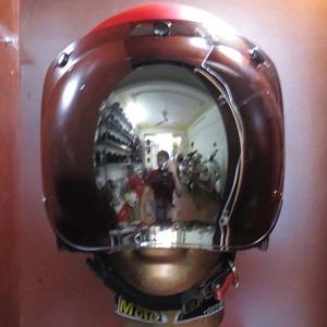 Kính dammtrax Bubble Thái Lan màu bạc (không flip-up)