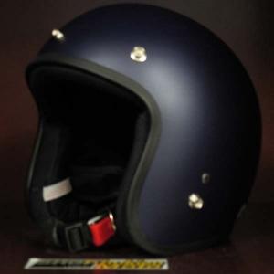 Mũ bảo hiểm 3/4 Dammtrax tím mực